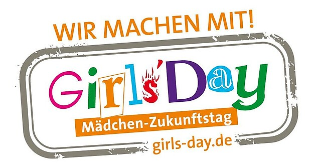Buntes LOGO Girls´Day